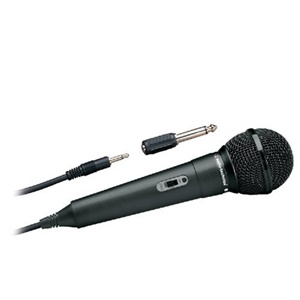 Audio-Technica ATR1100 Unidirectional Vocal Microphone - Dynamic - Handheld - 80Hz to 12kHz - Cable
