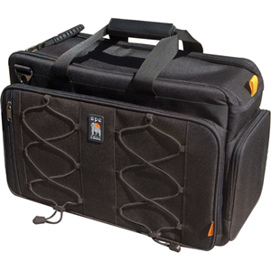 Ape Case ACPRO1600 Digital SLR/Laptop Travel Case - Handle, Shoulder Strap19&quot; Screen Support - 12&quot; x 20&quot; x 8.5&quot; - Nylon - Black, Hi-Vis Yellow