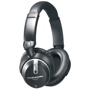 Audio-Technica ATH-ANC7b QuietPoint Binaural Headphone - Connectivity: Wired - Stereo - Over-the-head - Black