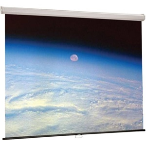 "Draper Luma Spring-Roller Projection Screen - 50"" x 67"" - Fiberglass Matt White - 84"" Diagonal"
