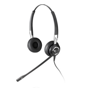 GN Jabra BIZ 2400 Duo USB Headset - Wired Connectivity - Stereo - Over-the-head