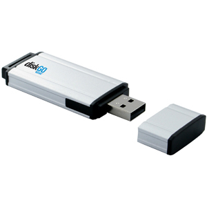 128GB DiskGO! USB 2.0 Flash Drive - 128 GB - USB - External