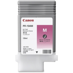 Canon PFI-104M Ink Cartridge - Magenta - Inkjet