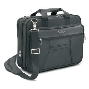 Toshiba Envoy Notebook Case - Top-loading12&quot; x 16&quot; x 5.5&quot; - Polyester - Black