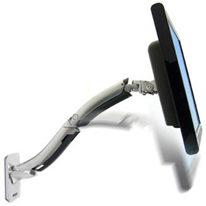 Ergotron MX Wall Mount LCD Arm - 30 lb - Aluminum