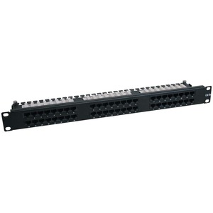 Tripp Lite N252-048-1U 48-Port CAT6 Network Patch Panel - 48 x RJ-45