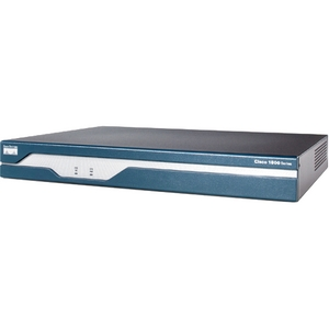 Cisco 1841 Integrated Services Router - 1 x CompactFlash (CF) Card - 2 x 10/100Base-TX LAN, 1 x USB