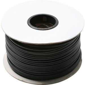 Steren Bulk Flat Modular Cable - 1000ft - Black