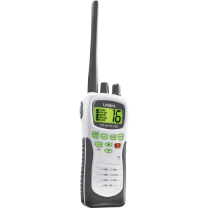 Uniden ATLANTIS 250 Hand-Held Marine Radio - VHF - 10 Weather / 16/9/Tri Instant