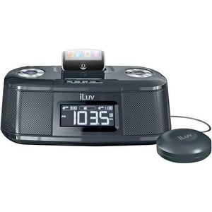 jWIN iMM153 Clock Radio - LCD - Dual Alarm - FM