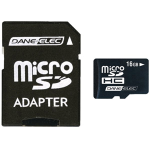 Dane-Elec 16GB microSD High Capacity (microSDHC)