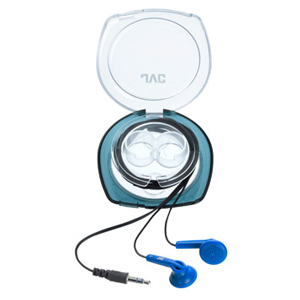 JVC HA-F10C-A Binaural Earphone - Wired Connectivity - Stereo - Earbud - Blue