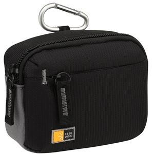 "Case Logic Medium Camera / Flash Camcorder Case - 3.75"" x 5.5"" x 2"" - Dobby Nylon"