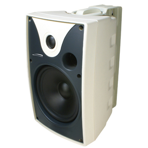 Speco SP5AWXTW 40 W RMS Outdoor Speaker - 2-way - White - 8 Ohm