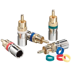 IDEAL OmniCONN Compression Video Connector - RCA
