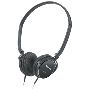 Panasonic RP-HC101 Noise Canceling Headphone - Wired Connectivity - Stereo - Over-the-head