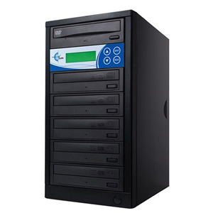 EZdupe 1:5 CD/DVD Duplicator - Standalone - DVD-ROM, DVD-Writer - 20x DVD-R, 20x DVD+R, 4x DVD+R, 4x DVD-R, 40x CD-R - 8x DVD+R/RW, 6x DVD-R/RW, 40x CD-RW - USB