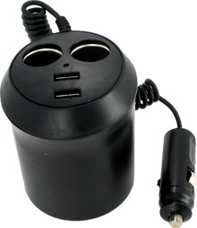 Multi-Purpose USB Car Adapter