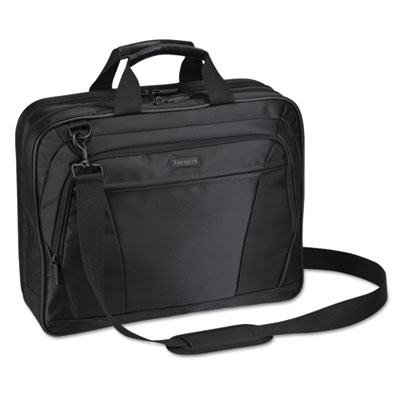 "Targus CityLite Notebook Case - Top-loading - 15.6"" Screen Support - Nylon - Black"
