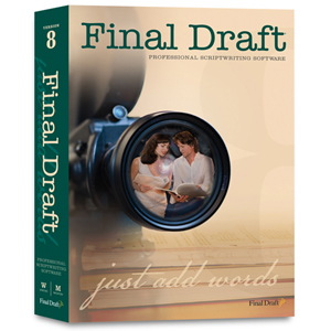 Final Draft v.8.0 - Complete Product - 1 User - Word Processor - Standard Retail - Mac, PC