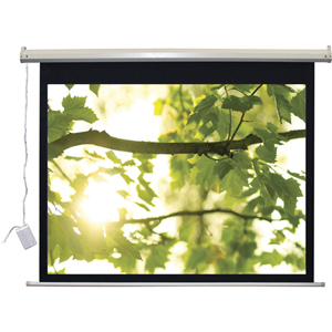 "VUTEC Lectro IR QM Series A Electric Projection Screen - 92"" Diagonal"