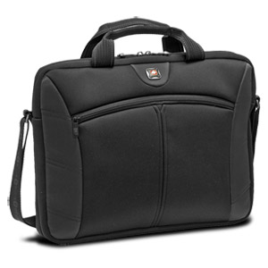"SwissGear SHERPA GA-7465-02F00 Carrying Case for 15.6"" Notebook - Black - Neoprene, Polyester"