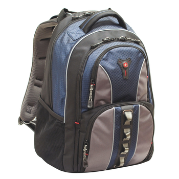 "SwissGear COBALT GA-7343-06F00 Carrying Case (Backpack) for 15.6"" Notebook - Blue - Polyester"