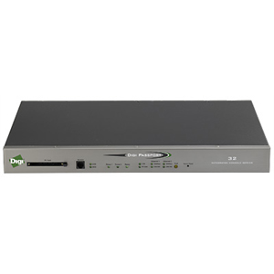 Digi Passport 48 Dual AC Power with Integrated Modem Console Server - 48 x RJ-45 Serial, 2 x RJ-45 10/100Base-TX , 1 x RJ-11 Modem - 1 x PC Card