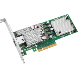 Intel 10 Gigabit AT2 Server Adapter - PCI Express x8 - 1 Port - 10GBase-T - Internal - Low-profile, Full-height - Retail