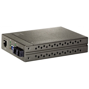 LevelOne FVT-4001 10/100 Based TX to 100FX MM/SC Media Converter - 1 x RJ-45 - 10/100Base-TX, 100Base-FX MM/SC