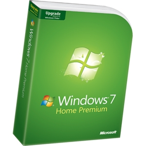 Microsoft Windows v.7.0 Home Premium - Upgrade from Windows Vista or XP