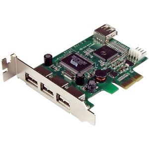 Click here for StarTech 4 Port PCI Express Low Profile High Speed... prices