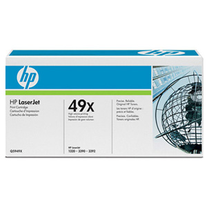 HP 49X Black Toner Cartridge - Black - Laser - 6000 Page