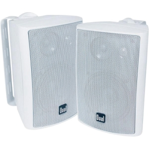 Dual LU43PW 50 W RMS Speaker - 3-way - White - 100 Hz to 20 kHz - 6 Ohm - Wall Mountable