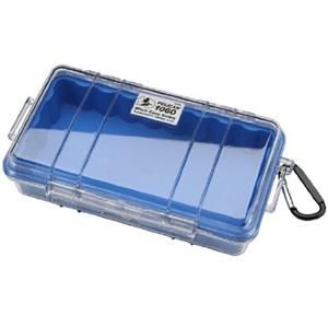 """1060 Micro Multi Purpose Case - 5.56"""" x 2.62"""" x 9.37"""" - Blue"""