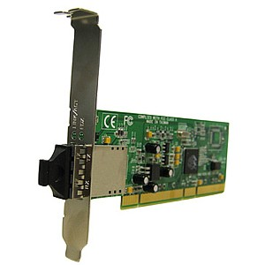 Transition Networks Fiber Optic Gigabit Ethernet Card - PCI - 1 x SC Network - 1000Base-SX - Internal