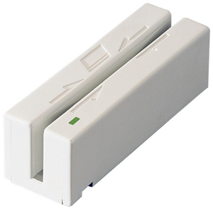 MagTek Mini Swipe Reader - 60in/s - USB - White