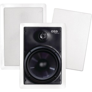 BIC America M-PRO6W 150 W RMS Speaker - 2-way - White - 8 Ohm