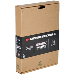Monster Cable HDMI Cable - HDMI Digital Audio/Video - 6.56ft