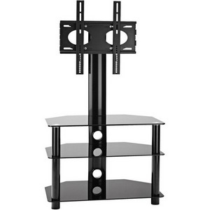 OmniMount Core Modena 37FP Flat Panel A/V Stand - Glass
