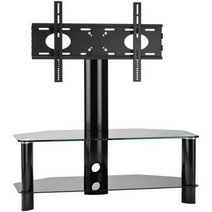 OmniMount Core Modena 47FP Flat Panel A/V Stand - Glass