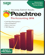 Peachtree Pro Accounting 2010