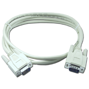 QVS VGA Cable - HD-15 Male VGA - HD-15 Male VGA - 6ft