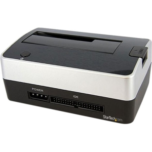 StarTech.com USB to SATA IDE Hard Drive Docking Station for 2.5in or 3.5in HDD Dock - 2.5 - Dock