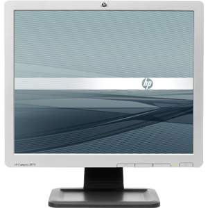 Compaq LE1711 17&quot; LCD Monitor - 5:4 - 5 ms- Smart Buy - 1280 x 1024 - 250 Nit - 1,000:1 - VGA - Carbonite, Silver