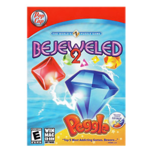 Bejeweled 2 with Peggle (2 Game Pack)