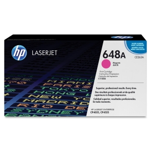 HP 648A Toner Cartridge - Magenta - Laser - 1 Each