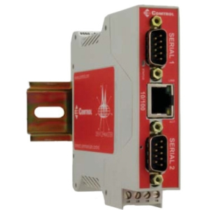 Comtrol DeviceMaster RTS 2-Port Device Server - 1 x Network (RJ-45) - 2 x Serial Port - Fast Ethernet