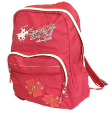 Beverly Hills Polo Club Backpack - Red