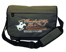 Beverly Hills Polo Club Messenger Bag - Gray